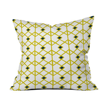 Joining Kingdoms Throw Pillow Cover