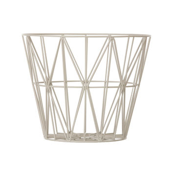 Harlequin Wire Basket in Gray
