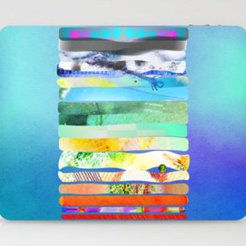 a Princess and a pea - COLLAGE LOVE -  Laptop & iPad Skin by Gréta Thórsdóttir | Society6