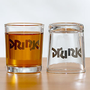 Drink Drunk Shot Glasses, Set of 2 | Drinkware| Kitchen &amp; Dining | World Market