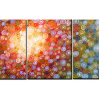 Original Large Abstract Painting Modern land of sun by AmyGiacomelli on Etsy