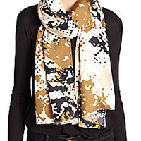 Rag & Bone - Camo Silk Scarf - Saks Fifth Avenue Mobile