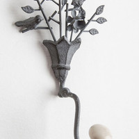 ModCloth Rustic Dainty on Duty Wall Hook