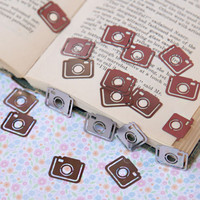 Clatter camera bookmark clips - &amp;#36;12.99 : ShopRuche.com, Vintage Inspired Clothing, Affordable Clothes, Eco friendly Fashion