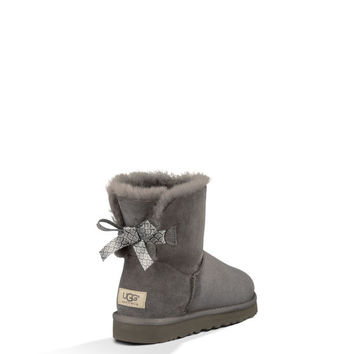 UGG® Official | Women's Mini Bailey Bow Scallop Footwear | UGGAustralia.com
