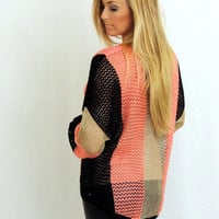 October Fest Color Block Sweater -  $39.00 | Daily Chic Tops | International Shipping