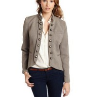 Kensie women`s Faded Tweed Jacket $128.00