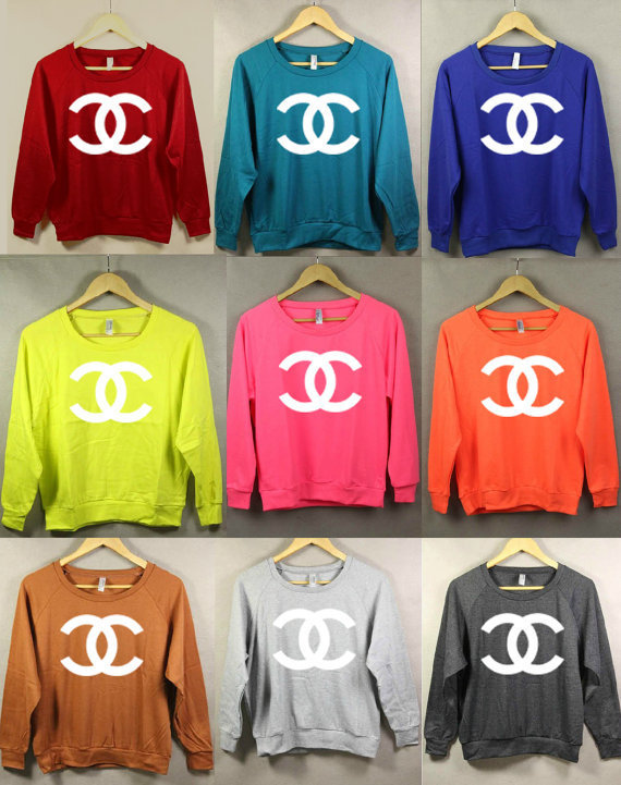Color me Chanel-the Sweatshirt