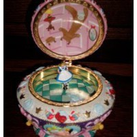 Alice in Wonderland Jewelry Box