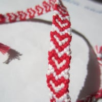 Heart Braided Friendship Bracelet