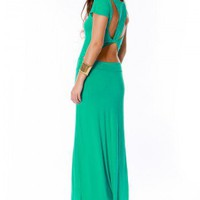 Envy Cutout Maxi Dress