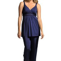 Jessica London Plus Size Knit empire pajamas Amoureuse $39.99