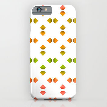 spring pattern iPhone & iPod Case by VanessaGF