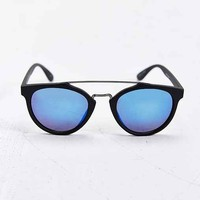 Jeepers Peepers Orson Brow Bar Round Sunglasses- Black One