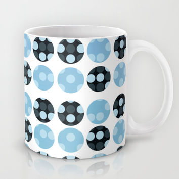 dots background with blue colors Mug by VanessaGF