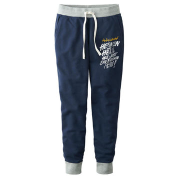 Andy Warhol Navy Inspired Sweats by Uniqlo