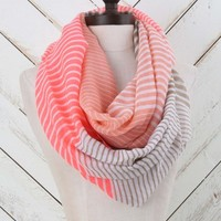 Altar'd State Vibrant Stripes Infinity Scarf | Altar'd State