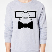 Carl Up Sweater - American Apparel Unisex Sizes S, M, L, XL - Custom Color