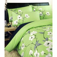 Dreams 'n' Drapes Chic Chi Quilt Set Olive, King: Amazon.co.uk: Kitchen  Home