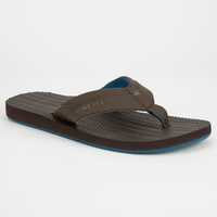 O'neill Psychofreak Mens Sandals Brown  In Sizes