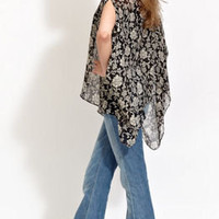 Winter Kate Condor silk chiffon jacket