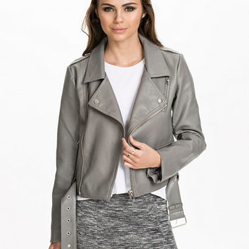 The Cropped Biker Jacket, NLY Trend