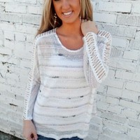 Multi Color Textured Top