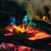 Amazon.com: 2-pack, Rainbow Fireplace Flame Crystals for Wood Fires: Home & Kitchen