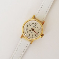 Vintage Russian Gold plated Au10 Watch Zarja 17 Jewels