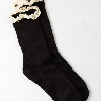 AEO Women's Lace Trim Sock