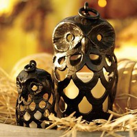 Shaped Owl Lanterns
