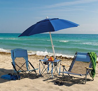 Breezy Beach Table - Frontgate