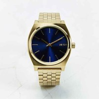Nixon Metal Time Teller Blue Watch- Dark Blue One