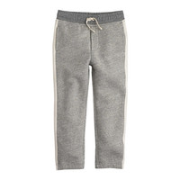 crewcuts Boys Slim Side-Stripe Sweatpant