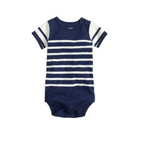 crewcuts Baby One-Piece In White Stripes