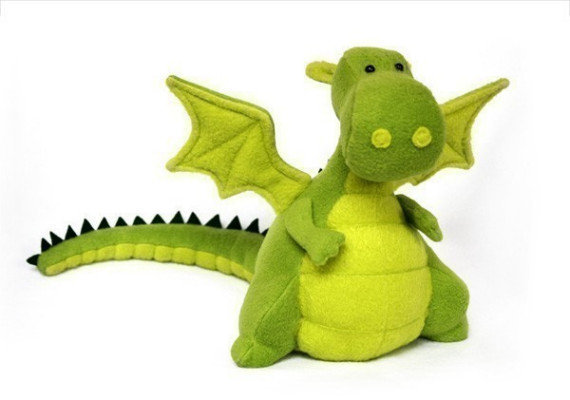 Yoki The Fat Dragon Pattern PDF by DIYFluffies on Etsy