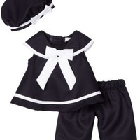 Rare Editions Baby-Girls Infant Nautical Capri Set $18.34