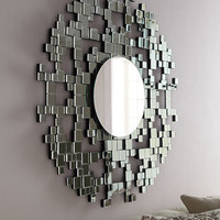 Mini Squares Mirror - Horchow