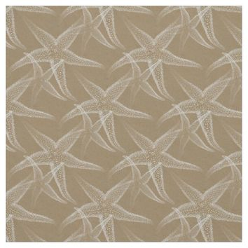 Starfish Sand Beach Fabric