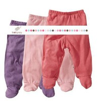 Baby Soy 3-piece Footie Pant Set for Girls $36.00