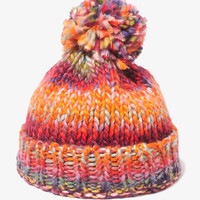Multi-Color Crochet Hat