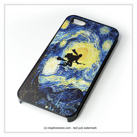 Starry Night With Harry Potter iPhone 4 4S 5 5S 5C 6 6 Plus , iPod 4 5 , Samsung Galaxy S3 S4 S5 Note 3 Note 4 , HTC One X M7 M8 Case