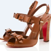 Christian Louboutin Double Noeud 100mm Sandals - &amp;#36;239.00