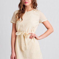 Come Together Shift Dress By Tulle