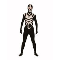 Full Body Discount Black and White Lycra Spandex Back Zipper Halloween Zentai Suit Eyes Open Fancy Dress for Halloween [TWL1112260851] - 31.39 : Zentai, Sexy Lingerie, Zentai Suit, Chemise