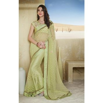 Adorable Asthetic Designer Saree - TheEthnicWear