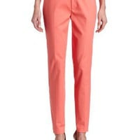 Calvin Klein Women`s Slim Slant Pocket Pant $69.50