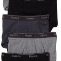 Hanes Men`s 6-Pack Classics Full-Cut Brief Underwear $14.29 - $19.50