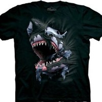 The Mountain Break Through Great White Shark Tee T-shirt $11.95 - $19.95