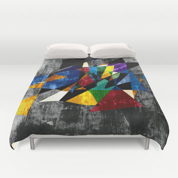 Abstract II Duvet Cover by Sanja Amic